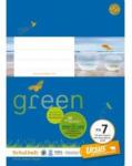 Pagro URSUS GREEN Schulheft A5 FX7 mit Korrekturrand 20 Blatt liniert