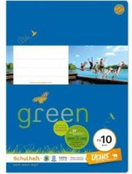 URSUS GREEN Schulheft A4 FX10 20 Blatt glatt