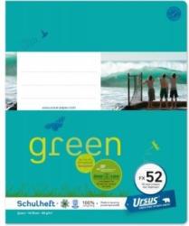 URSUS GREEN Schulheft quart FX52 mit Rahmen 40 Blatt liniert