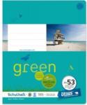 Pagro URSUS GREEN Schulheft quart FX53 mit Korrekturrand 40 Blatt liniert