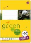 Pagro URSUS GREEN Schulheft A5 FX20 40 Blatt glatt
