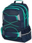 Pagro Rucksack Oxy Sport Pastell dunkelblau/grün