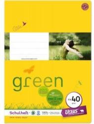 URSUS GREEN Schulheft A4 FX40 40 Blatt glatt
