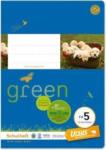 Pagro URSUS GREEN Schulheft A5 FX5 20 Blatt liniert