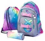 Pagro Schulrucksackset Oxy Style Mini - Regenbogen 3 Teile bunt