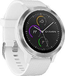 Smartwatch Vivoactive 3, weiß/edelstahl (010-01769-20)