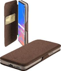 Buchklapptasche fBOOK Clutch ür Samsung Galaxy S10, braun