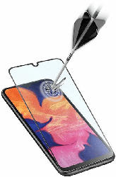 Display-Schutzglas für Samsung Galaxy A20e, ultraklar, schwarz
