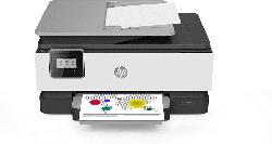 Multifunktionsdrucker OfficeJet 8014 mit 9 Monate Instant Ink, schwarz/weiß, Tinte (3UC57B)