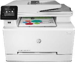 Multifunktionsdrucker Color LaserJet Pro MFP M283fdn, Farblaser, weiß (7KW74A))
