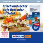 Konsum Dresden Wöchentliche Angebote - bis 11.04.2020
