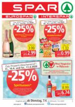 SPAR Flugblatt 07.04. bis 15.04. Oberösterreich
