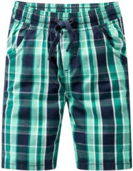 Jungen Shorts im Karo-Look