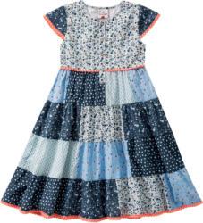 Mädchen Kleid im Patchwok-Dessin