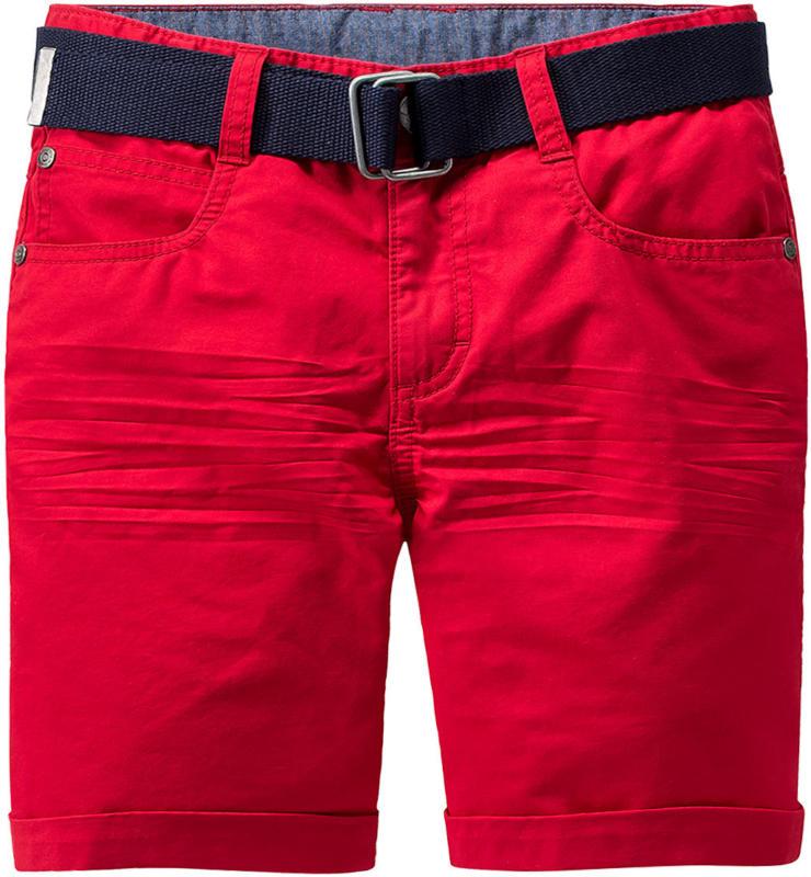 Jungen Shorts mit Canvasgürtel (Nur online)