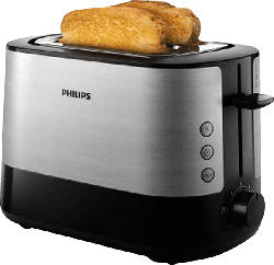 Viva Collection Toaster HD2637/90, silber-schwarz