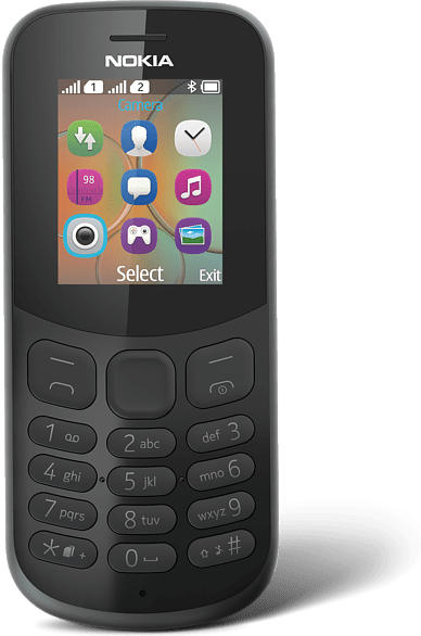 130 (2017) Dual-SIM, schwarz