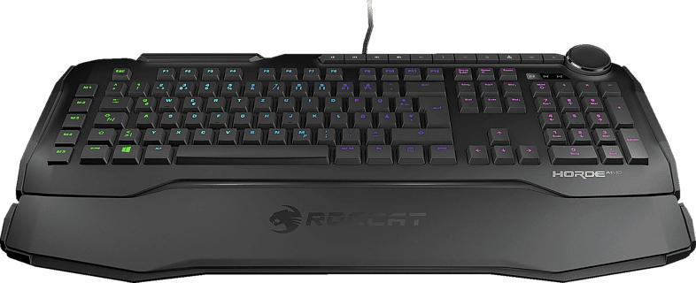 Gaming Tastatur Horde Aimo, kabelgebunden, schwarz (ROC-12-350-BK)