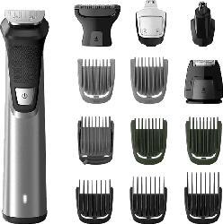 Multigroom MG7745/15 14-in-1 für Gesicht, Haare und Körper Serie 7000, silber-schwarz