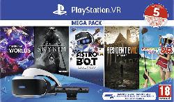 PlayStation VR Mega Pack 2: PlayStation VR, PlayStation Camera, 5 Spiele (VOUCHER)