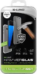 Displayschutzglas 3D Curved inkl. TPU Backcover für Samsung Galaxy S7 (HDISPROTSETS7H)