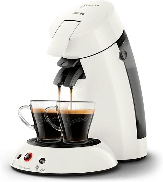 Senseo Original Kaffeepadmaschine HD6554/10, weiß