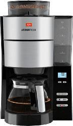 Filterkaffeemaschine mit Mahlwerk AromaFresh, schwarz (1021-01 BKSST)