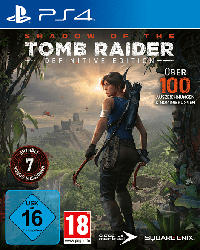 Shadow of the Tomb Raider - Definitive Edition [PlayStation 4]