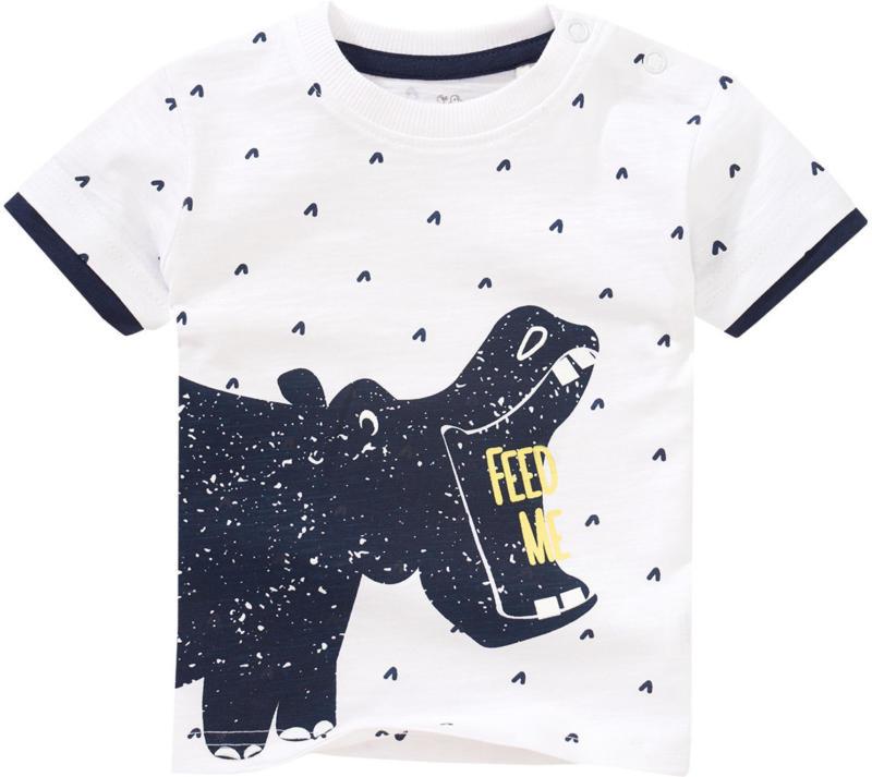Baby T-Shirt mit großem Nilpferd-Print (Nur online)