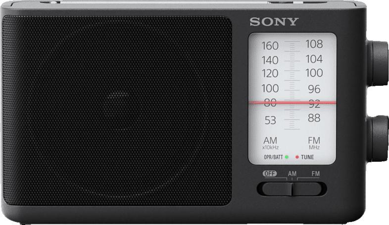 SONY ICF-506 Radio (AM, FM, Schwarz)
