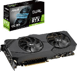 ASUS GeForce® RTX 2070 SUPER™ Dual Evo OC 8GB (90YV0DK0-M0NA00) (NVIDIA, Grafikkarte)