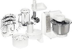Küchenmaschine MUM4880 PROFI MIXX WEISS/SILBER