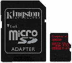 Saturn Speicherkarte Canvas React microSDHC 32GB Kit, UHS-I U3, A1, Class 10 (SDCR/32GB)