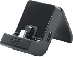 Ladestation für Nintendo Switch Display schwarz