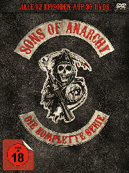 Sons of Anarchy - Die komplette Serie: Staffel 1-7 (30 Discs Complete Box)