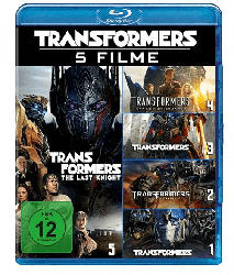 Transformers-5-Movie Collection
