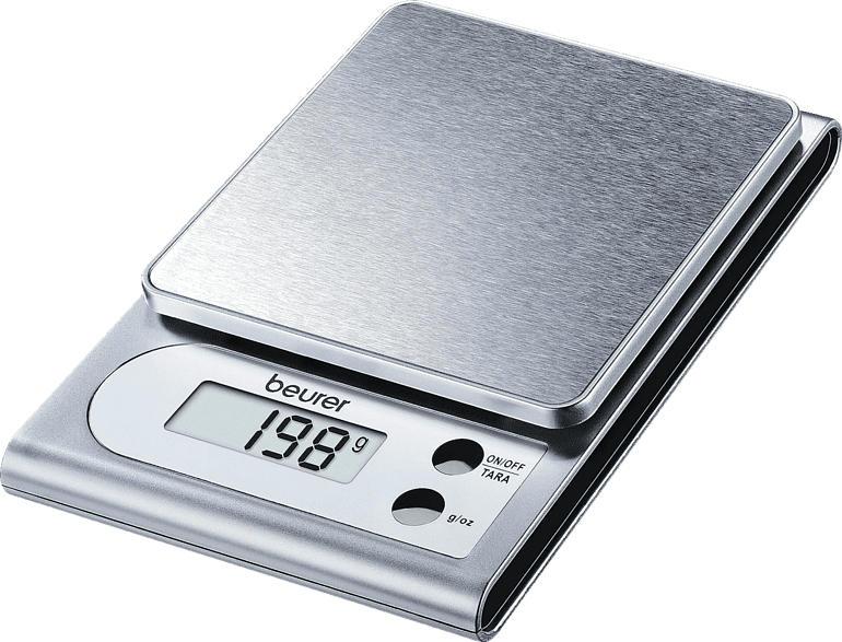 BEURER 704.10 KS 22 Küchenwaage (Max. Tragkraft: 3 kg, Standwaage)