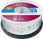 Media Markt ISY IDV-1100 DVD+R 25er Spindel Printable DVD+R
