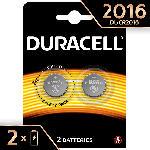 Saturn Specialty 2016 Lithium Knopfbatterie, 2er Pack (DL2016/CR2016)