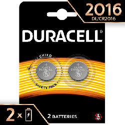 Specialty 2016 Lithium Knopfbatterie, 2er Pack (DL2016/CR2016)