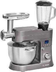 Küchenmaschine KM 1395 CB Titan mit 1200 Watt Leistung in Silber
