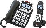 Saturn Telefon GD 61 ABB mit Mobilteil und volldigitalem Anrufbeantworter