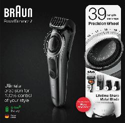 Beard Trimmer BT7240 Metallic-Grau