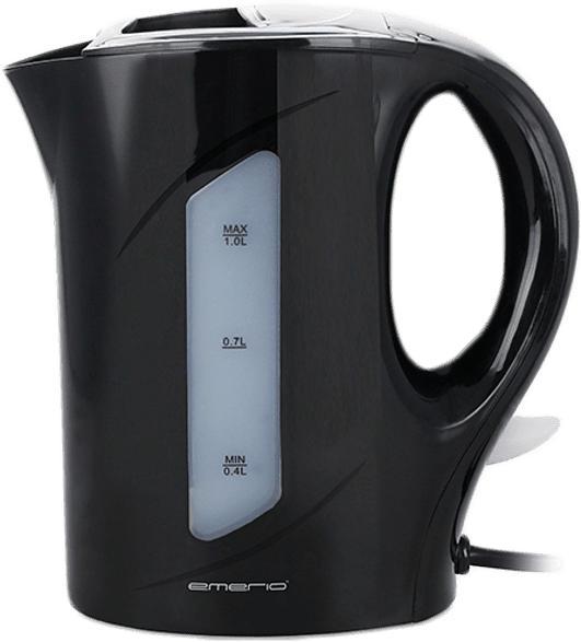 Wasserkocher 1l Schwarz