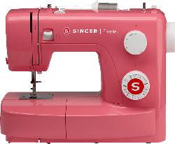 Nähmaschine Simple 3223, rot