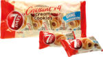 Mix Markt Croissant mit Haselnusscreme und Keksstückchen, 4 x 60g - bis 09.01.2021