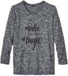 NKD Damen-Sweatshirt mit Pailletten-Schriftzug, große Größen - bis 06.06.2020