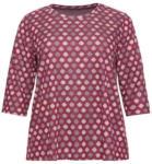NKD Damen-Sweatshirt mit Kreis-Muster, große Größen - bis 30.05.2020