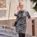 NKD Damen-Kleid mit Zebra-Muster - bis 06.06.2020