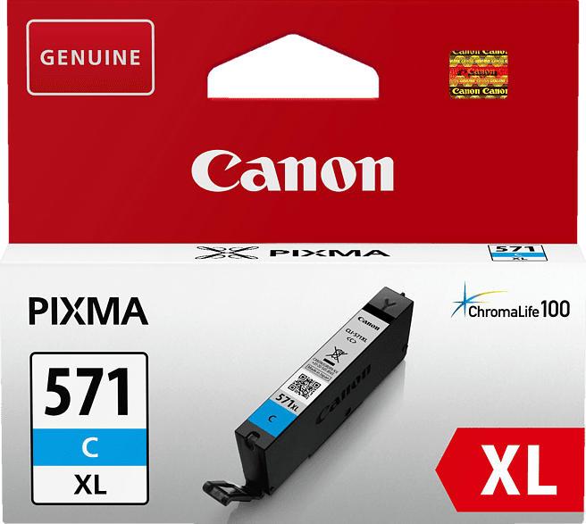 CANON CLI 571XL C Tintenpatrone Blau (0332C001)